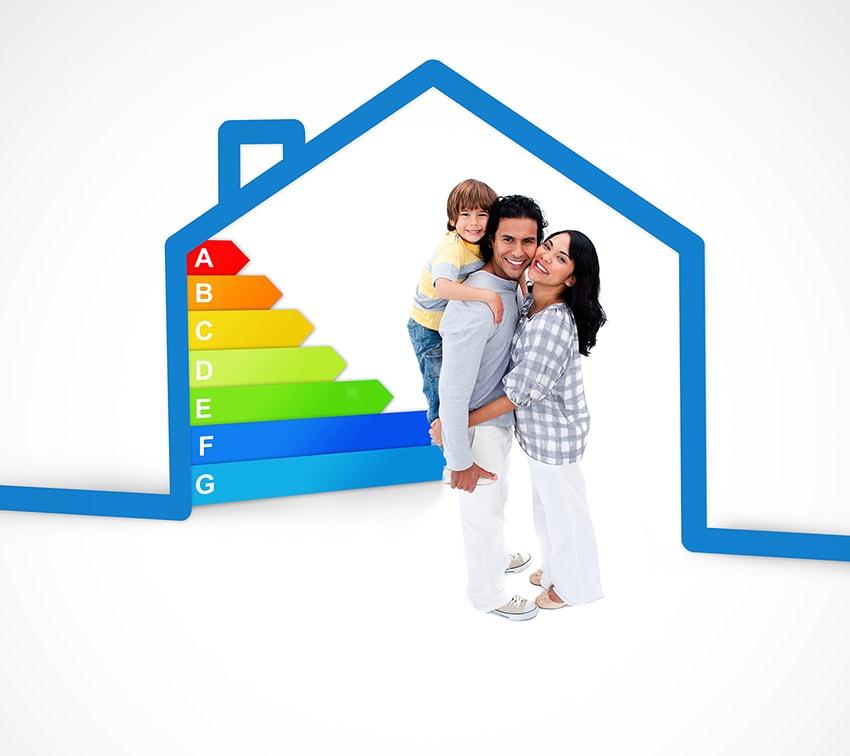 el confort de una vivienda eficiente